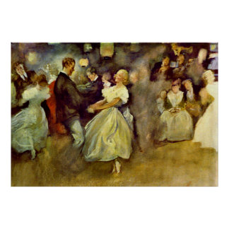 Country Dance 1890 Poster