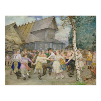 Country Dance, 1917-22 Postcard