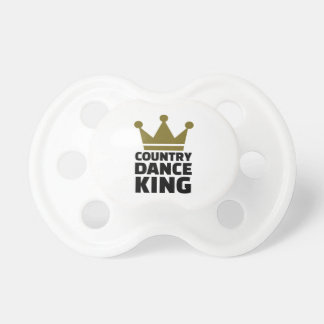 Country dance king pacifier