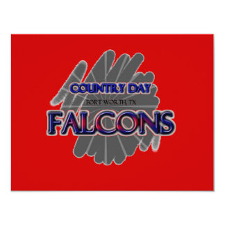 Country Day Falcons - Fort Worth, TX Card
