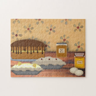 Country Desserts Puzzle