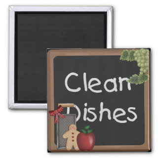 Country Dishwasher Magnet