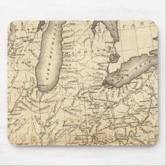 Country drained by the Mississippi Eastern Section Mouse Pad
