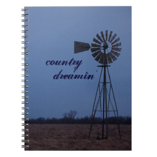 Country Dreamin' Notebook
