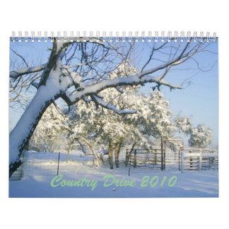 Country Drive 2010 Calendar