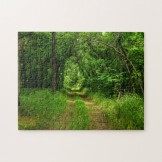Country Driveway Jigsaw Puzzle