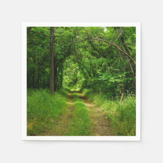 Country Driveway Napkin