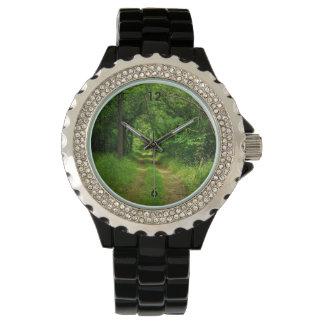 Country Driveway Wristwatch