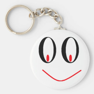Country Drunken Eyes With A Smirking Smile Keychain