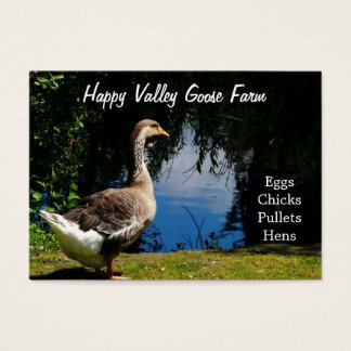 Country Duck or Goose Farm  Business Cards