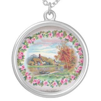 Country Estate Vignette Vintage Birthday Necklace