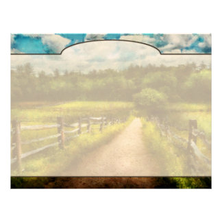 Country - Every journey starts with a path  Letterhead Design