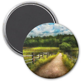 Country - Every journey starts with a path  Refrigerator Magnet