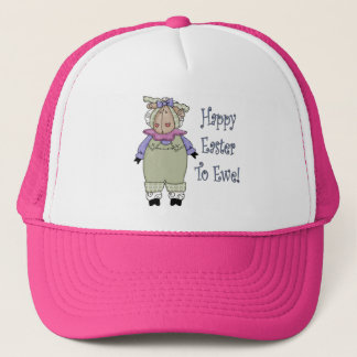 Country Ewe Easter T shirts and Gifts Trucker Hat
