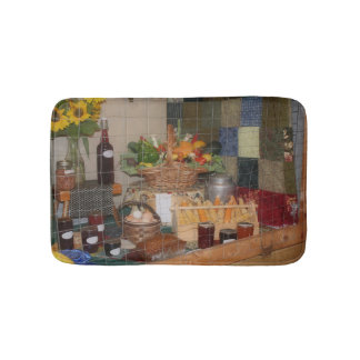 Country Fair Harvest Display Bathroom Mat