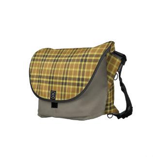 Country Fair Tartan Plaid Commuter Bag