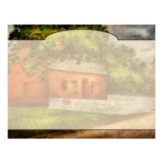 Country - Farm - A small farm house Letterhead Design