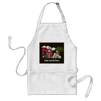 Country Farm add words cooking kitchen apron