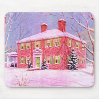 Country Farm Home Mousepads