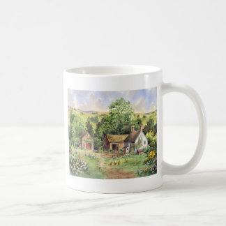 """Country Farm"" idyllic country landscape Coffee Mug"