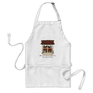 Country Farm Life Adult Apron
