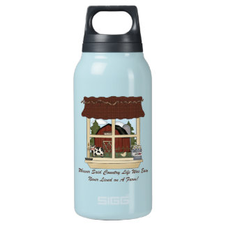 Country Farm Life Insulated Water Bottle