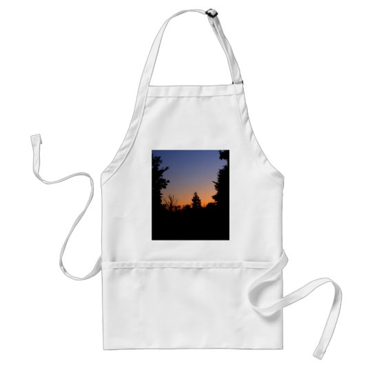Country Farm Scene Beautiful Sky CricketDiane Adult Apron