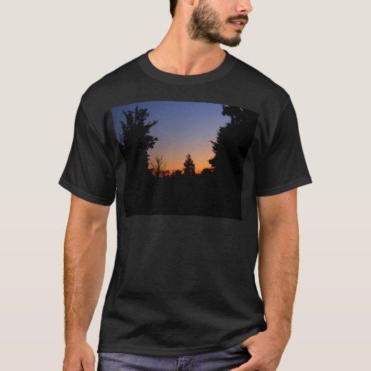 Country Farm Scene Beautiful Sky CricketDiane T-Shirt