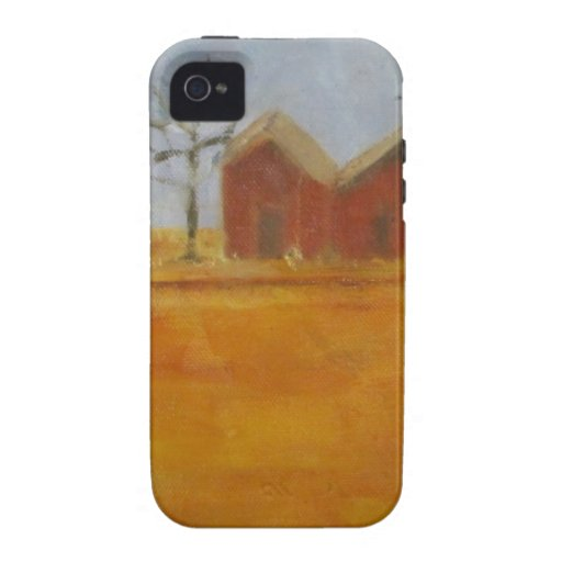 Country Farm Traditional Prairie Art Case For The iPhone 4