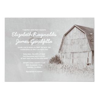 Country Farm Wedding Invitations