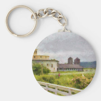 Country - Farming is hard work Key Chains