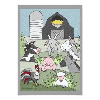 Country Farmlife 14 5x7 Paper Invitation Card