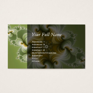 Country Fayre - Fractal Art Business Card