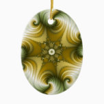 Country Fayre - Fractal Art Ceramic Ornament