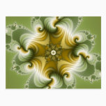 Country Fayre - Fractal Art Postcard