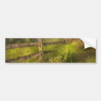 Country - Fence - County border Car Bumper Sticker