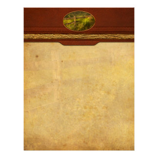 Country - Fence - County border Letterhead Template