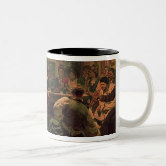 Country Festival, 1881 Two-Tone Coffee Mug