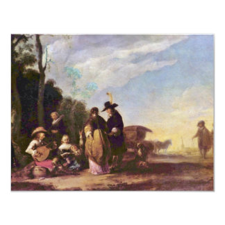 Country Festival By Scheits Matthias (Best Quality 4.25x5.5 Paper Invitation Card