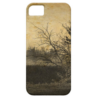 Country Field landscape Rustic Winter Trees iPhone SE/5/5s Case