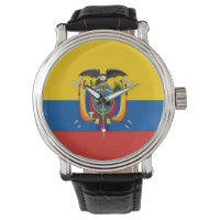 country flag ecuador watch
