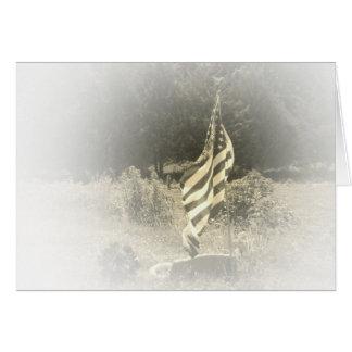 Country Flag Scene Card