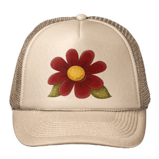 Country Flower Beauty Trucker Hat