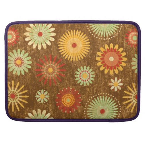 Country Flower pattern Sleeves For MacBooks