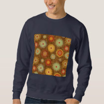Country Flower pattern Sweatshirt