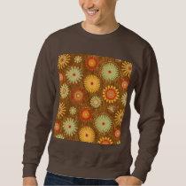 Country Flower pattern Sweatshirt