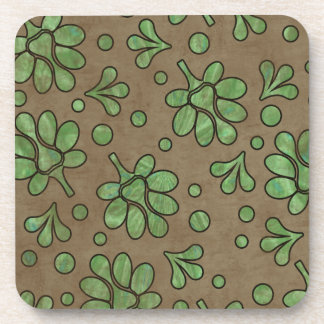 Country Flowers Drink Coaster