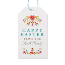 Country Flowers Easter Gift Tags