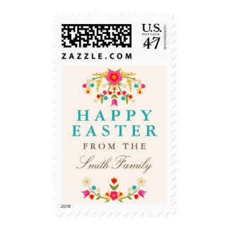 Country Flowers Easter Postage