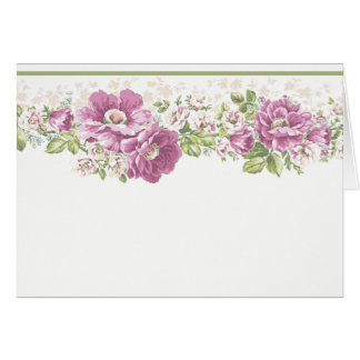 Country Flowers Note Card